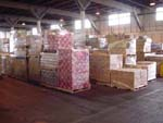 shipping crate overseas